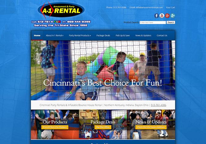 A 1 Amusement U0026 Party Rental