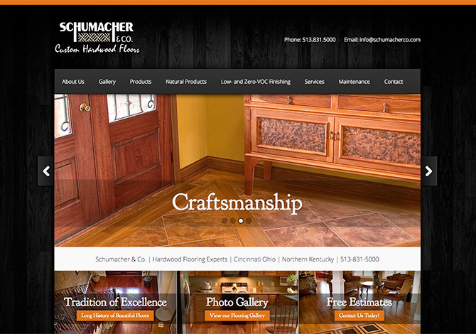 Schumacher & Co. Website